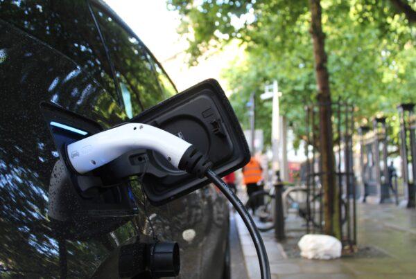 electric company car